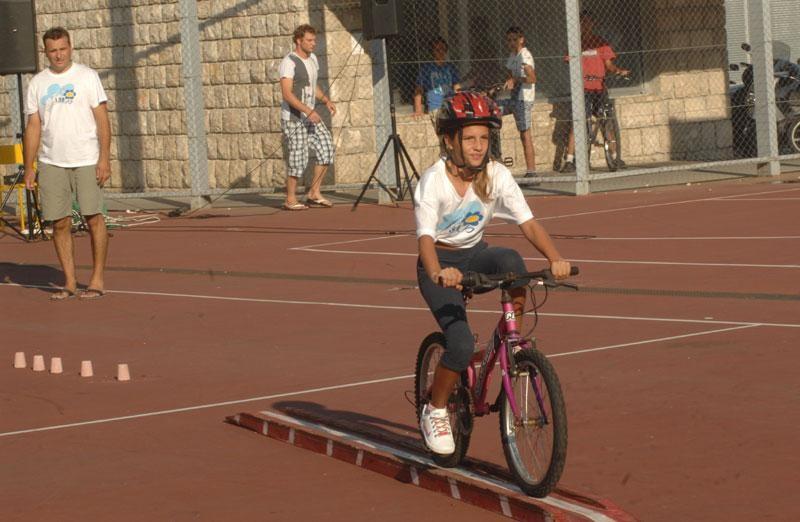 Biciklijada osnovnoškolaca
