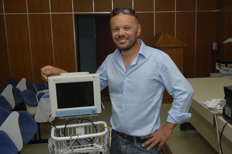 Bolnici doniran monitor za vitalne funkcije