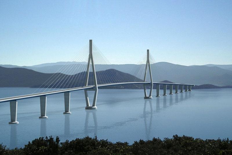 Na Pelješki most utukli 168,7 milijuna kuna