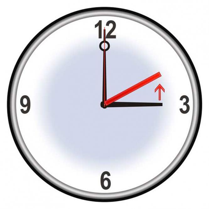Noćas pomaknite sat unatrag!
