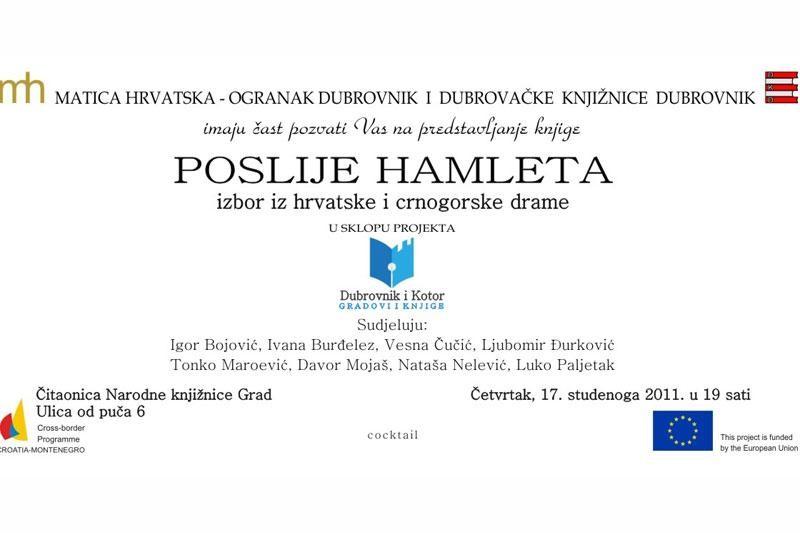 """Poslije Hamleta"""