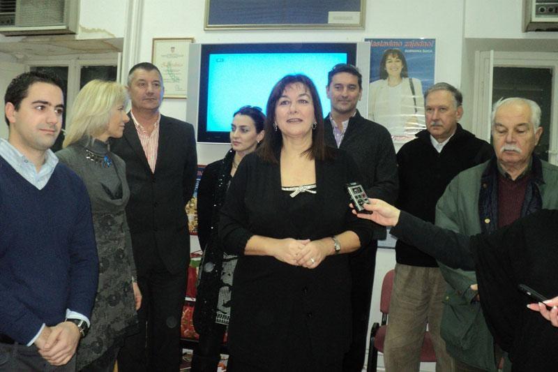 Raspoložena Šuica potratala gradske novinare