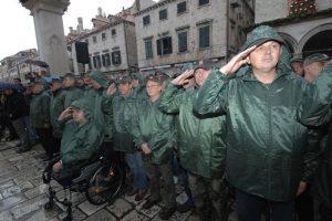 25. GODIŠNJICA DEBLOKADE Na Stradunu će se postrojiti ratni veterani