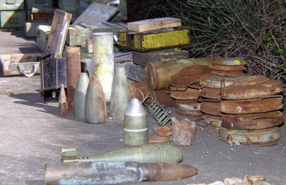 LISAČKE RUDINE Sutra u Primorju uništavanje mina