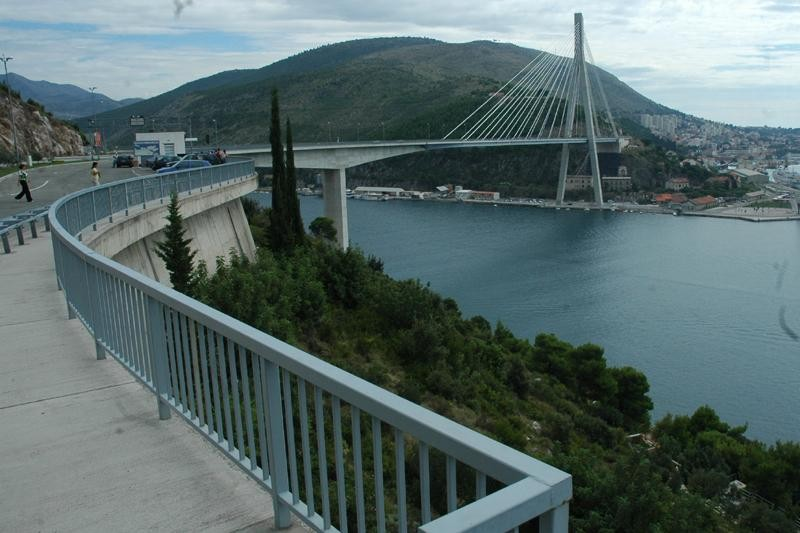 Zatvoren most Dr. Franja Tuđmana