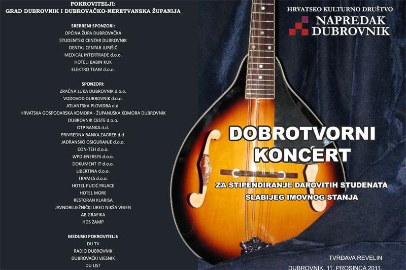 Dobrotvorni koncert klapa u Revelinu