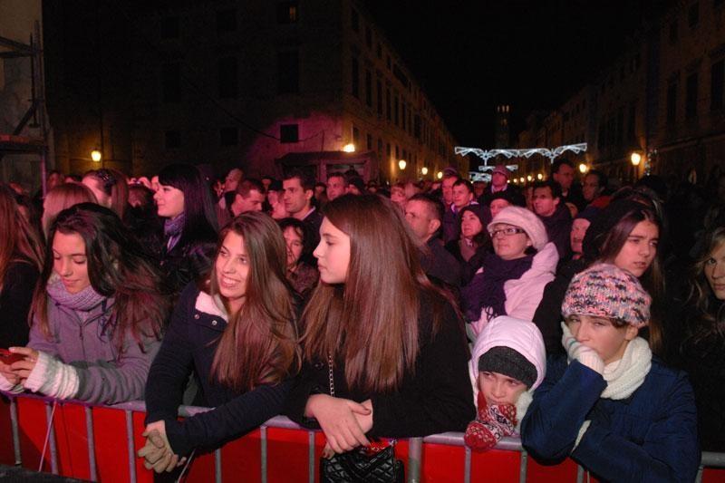 Za Doček u Gradu oko 5 tisuća turista