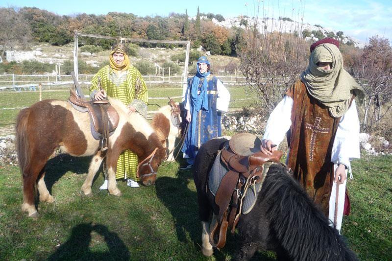 Tri kralja pohodila Medenu dolinu