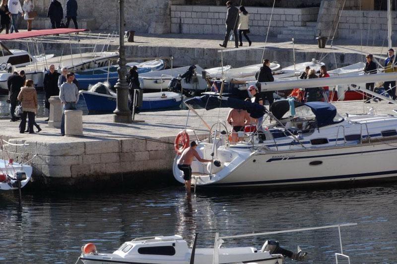 Palo novogodišnje kupanje u Portu!