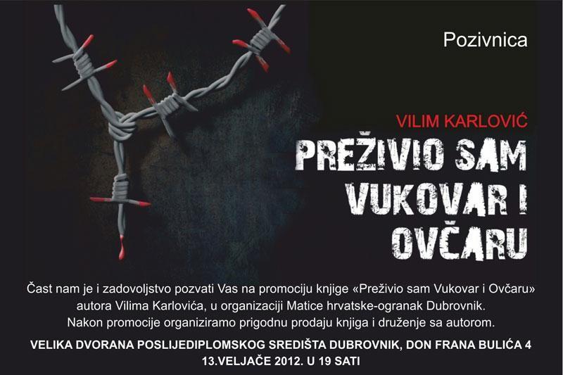 """""""Preživio sam Vukovar i Ovčaru"""""""