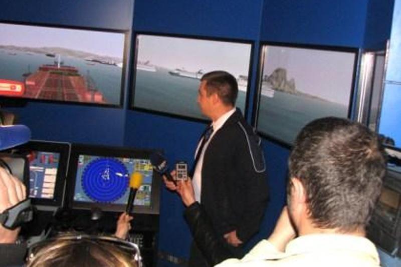 Brodski simulator na Sveučilištu