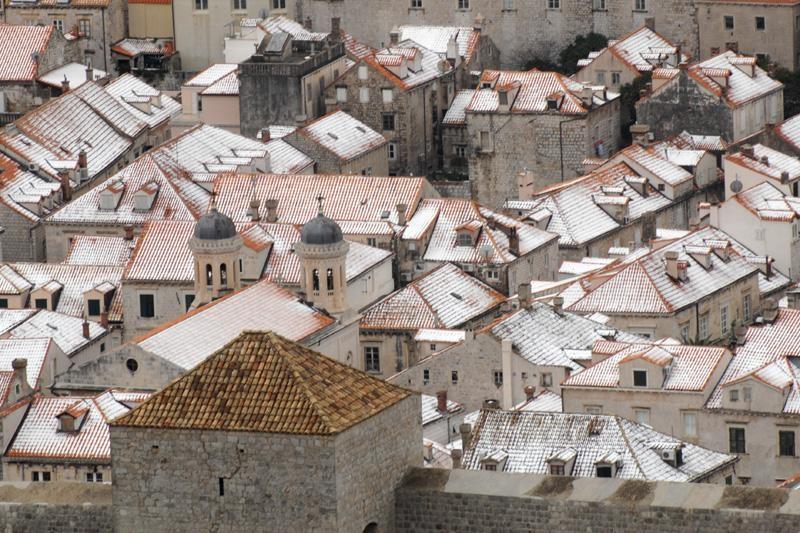 Ništa od snijega u Dubrovniku!