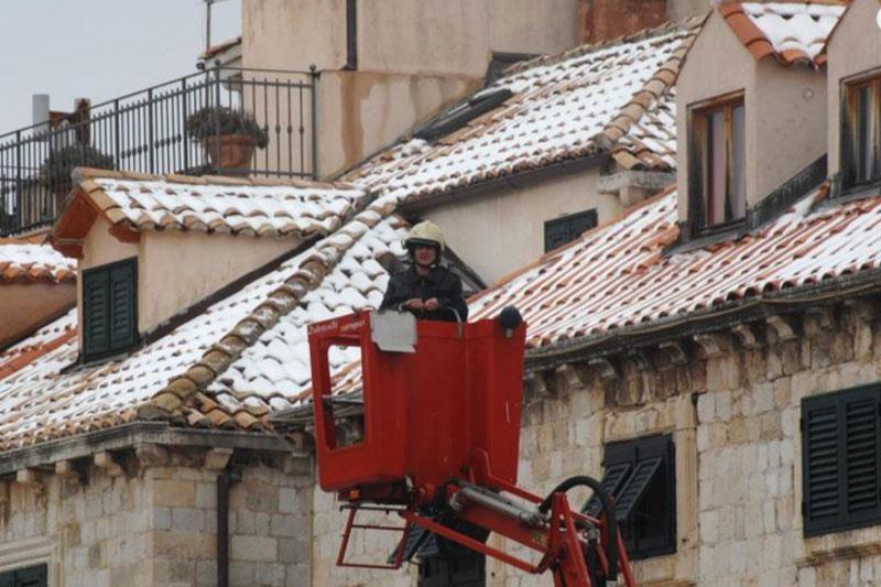 Dubrovnik spreman za snijeg