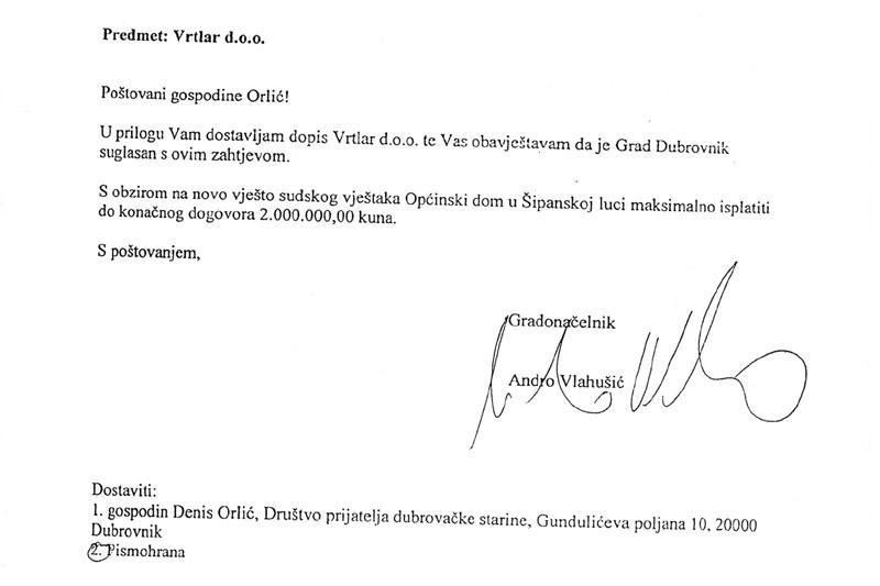 Hoće li Vlahušić i pred sudom tvrditi da ništa nije potpisao!?
