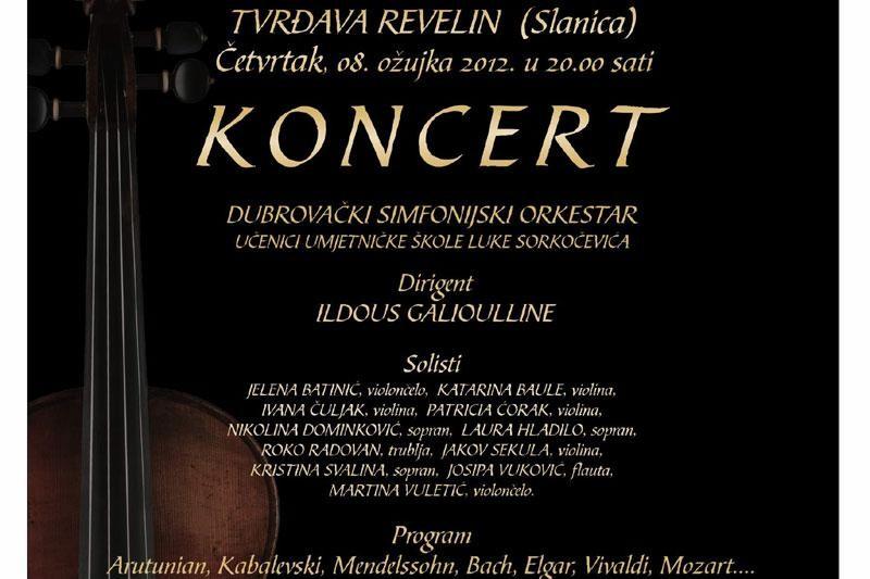 Koncert mladih glazbenika u Slanici