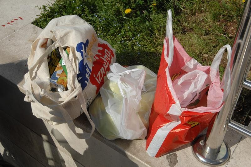 Zamijenite plastične za platnene vrećice!