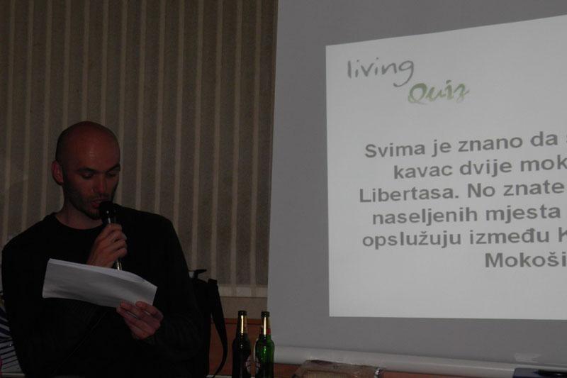 "Dođite na ""Living Quiz""!"