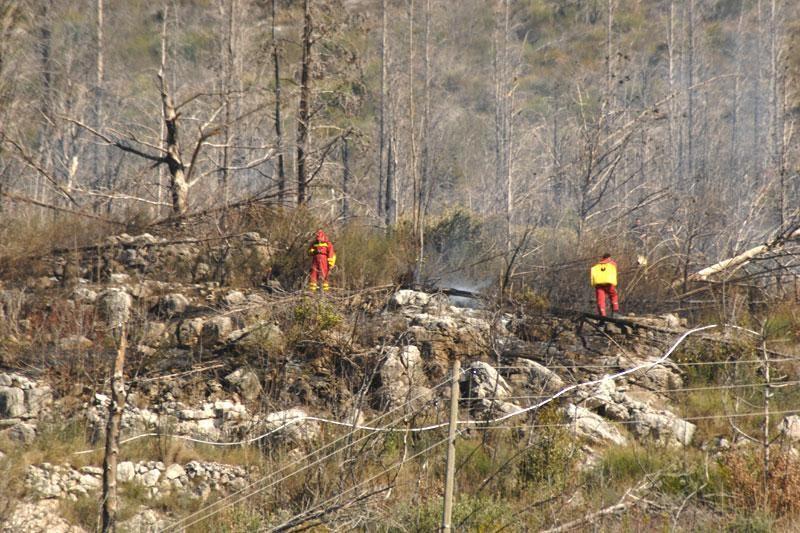 Vjetar aktivira ugašene trebinjske požare
