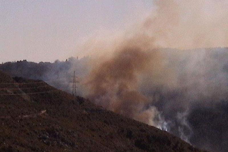 Požar u Šumetu!