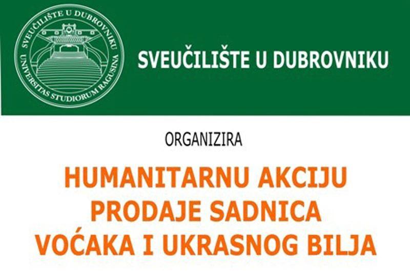 Humanitarna akcija prodaje sadnica
