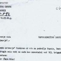 Sjećanje na Primorsku satniju