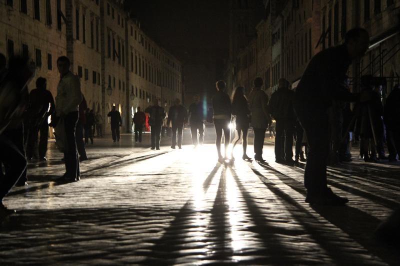 Mrak Grad u mraku