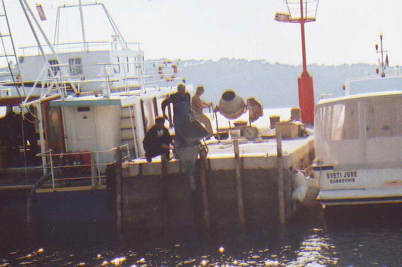 Obnovljena riva na Lopudu