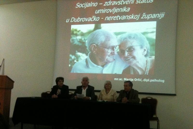 Tribina o socio-zdravstveni statusu umirovljenika
