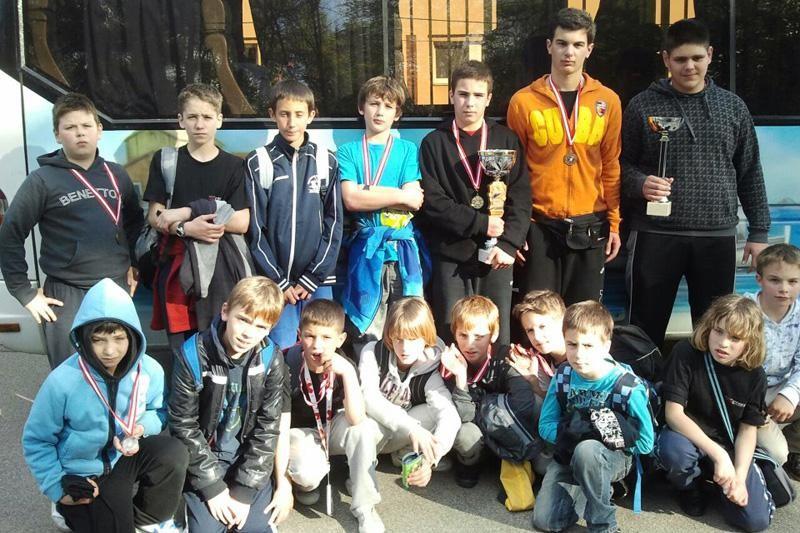 Žetva medalja u Grazu