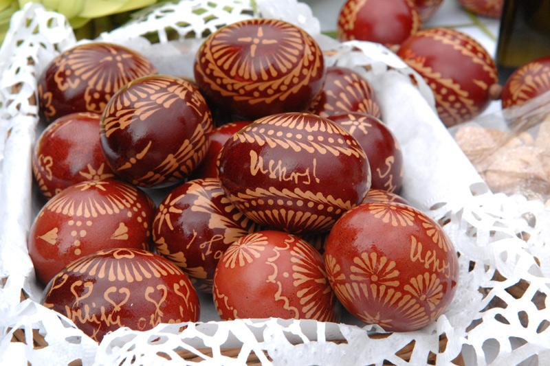 Uskrs u Primorju - pengana jaja