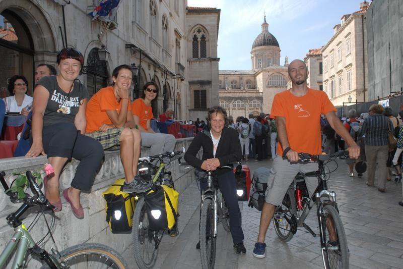 Vratili se biciklisti prve đirate do Raguse