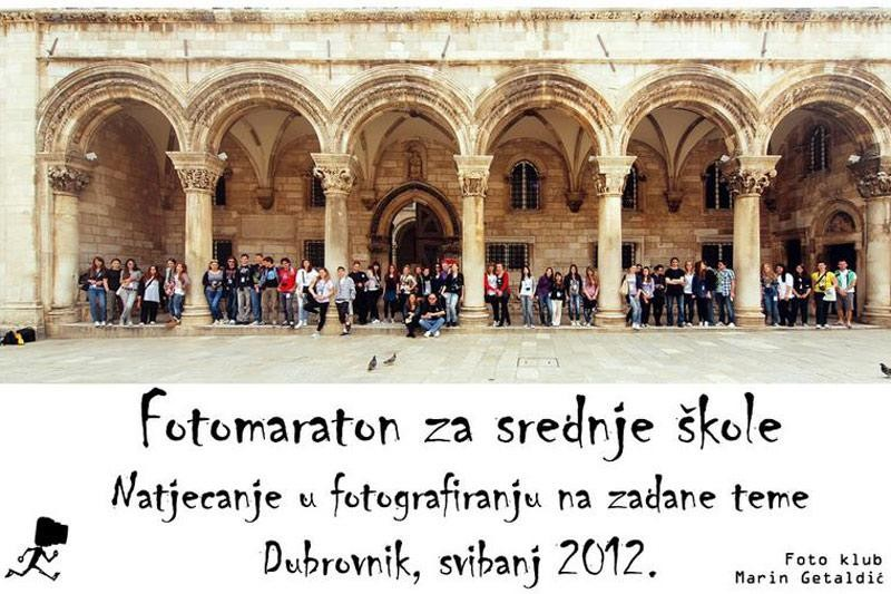 Srednjoškolci u subotu je Fotomaraton!