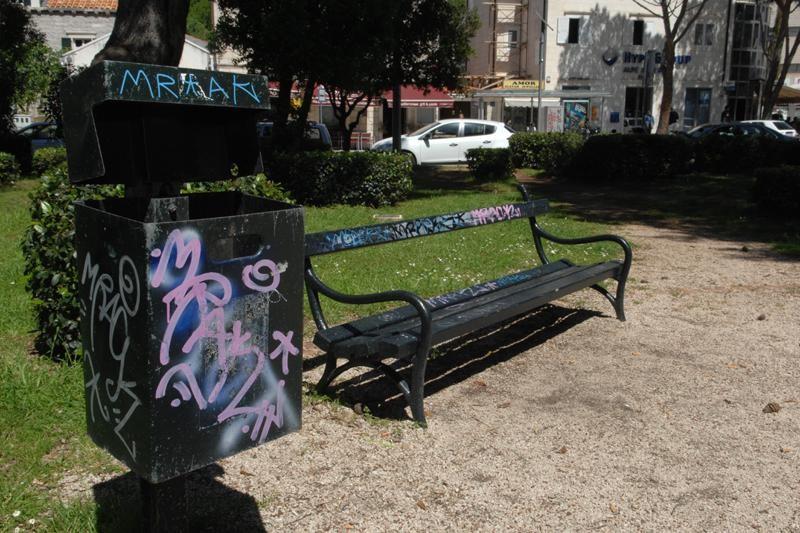 """Dobrodošli u """"park grafita"""""""