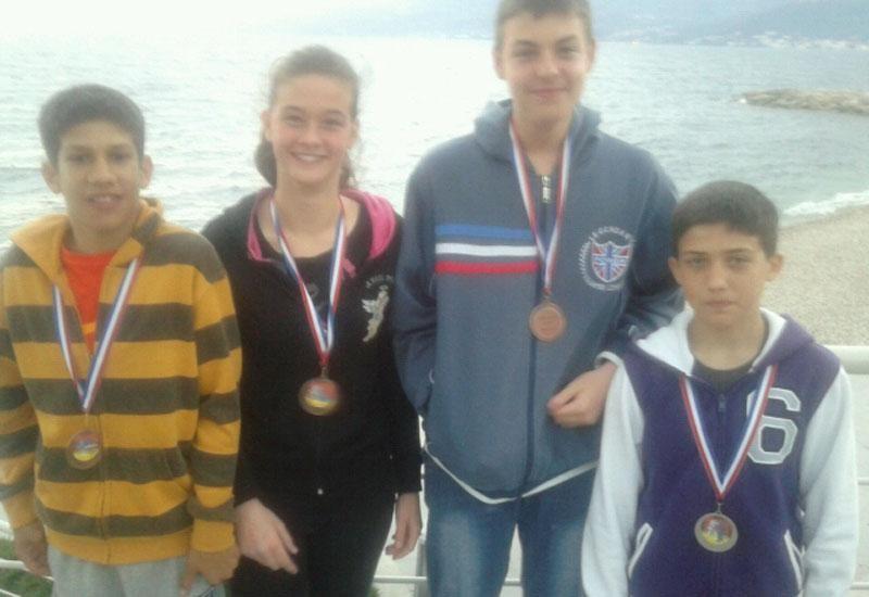 Četiri medalje za kadete JK Dubrovnika