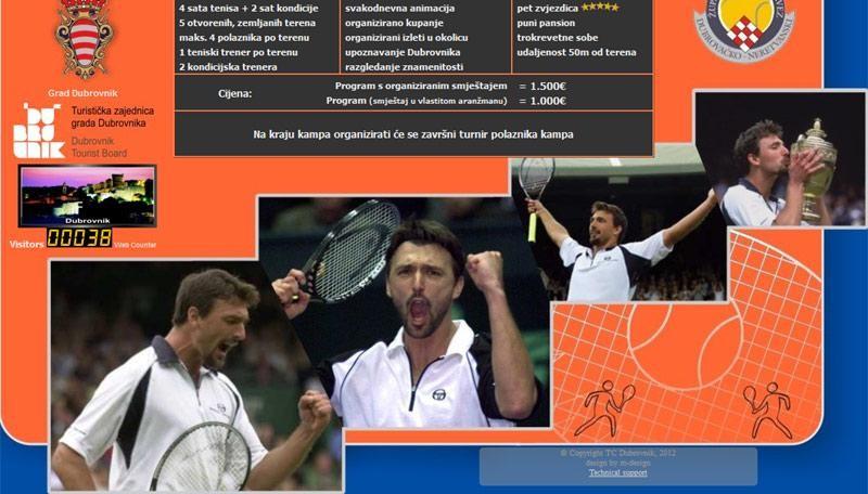 Goran Ivanišević organizira tenis kamp u Gradu