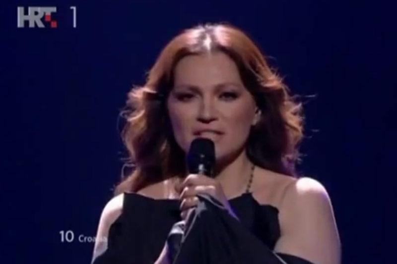 Nina Badrić ostala bez finala Eurosonga