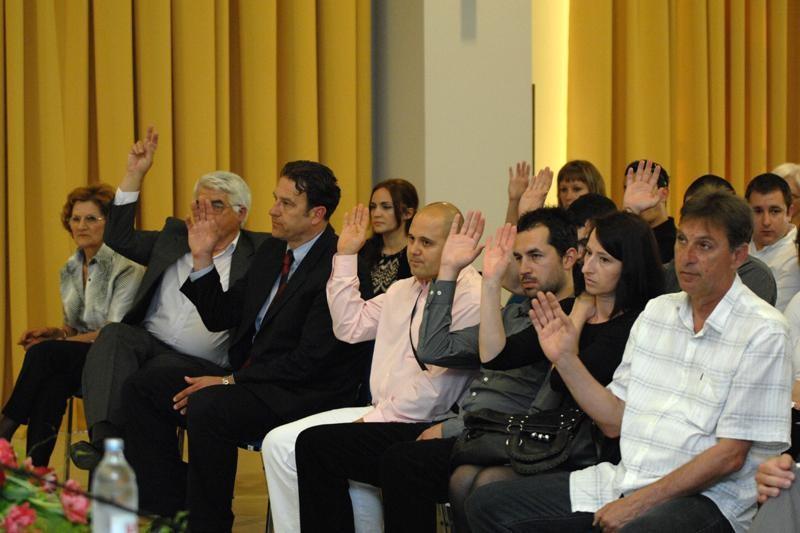 Izabrani kandidati za konvenciju SDP-a Hrvatske