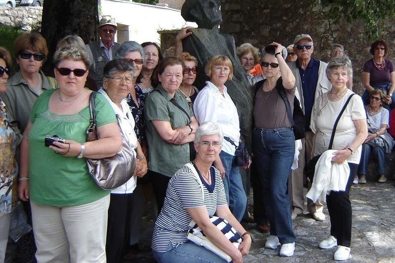 Lapadski umirovljenici u Vrgorcu