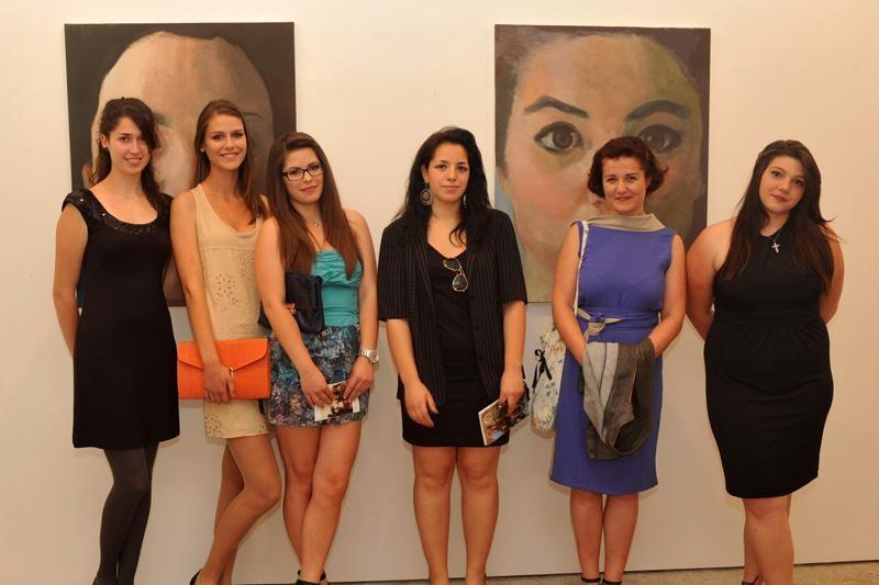 Autoportreti u Galeriji mladih