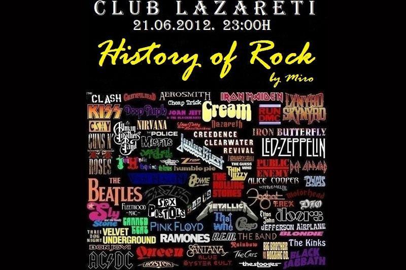 Povijest rocka večeras u Lazaretima