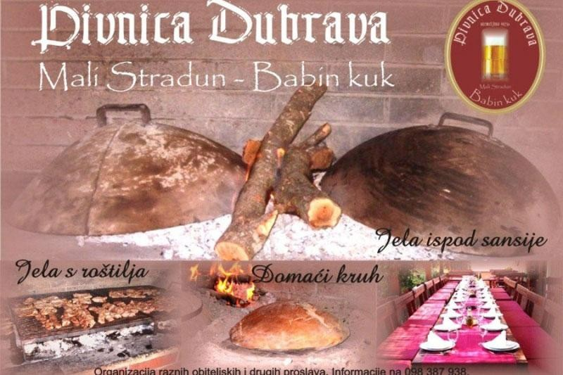 Bosutski bećari u pivnici Dubrava