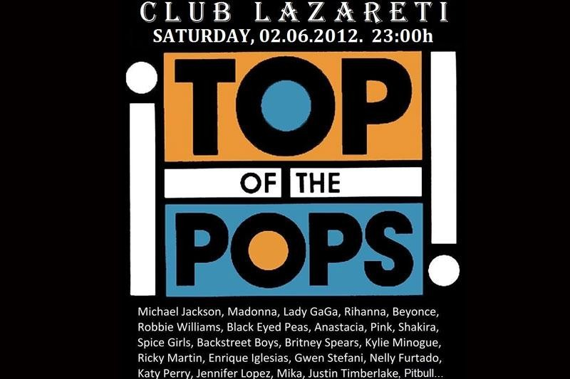 Top of the Pops u subotu u Lazaretima