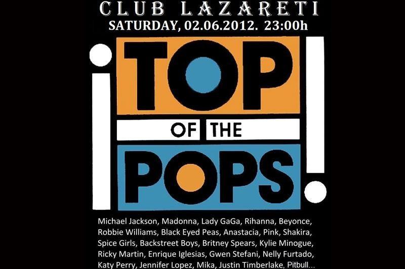 Top of the Pops u subotu u Lazaretima