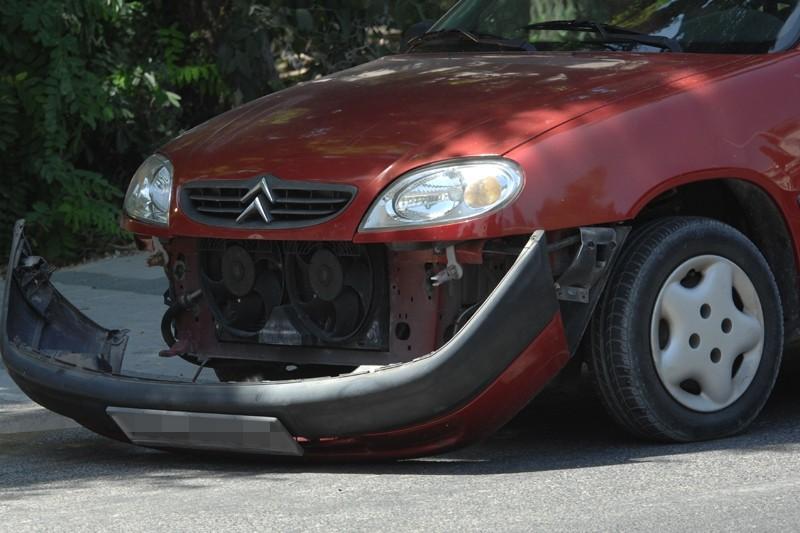 Prometna nesreća na kružnom toku