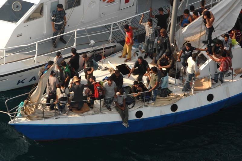 Emigrante čeka  deportacija u Grčku