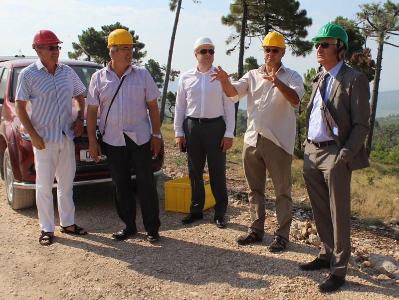 Župan obišao vjetroelektranu Ponikve