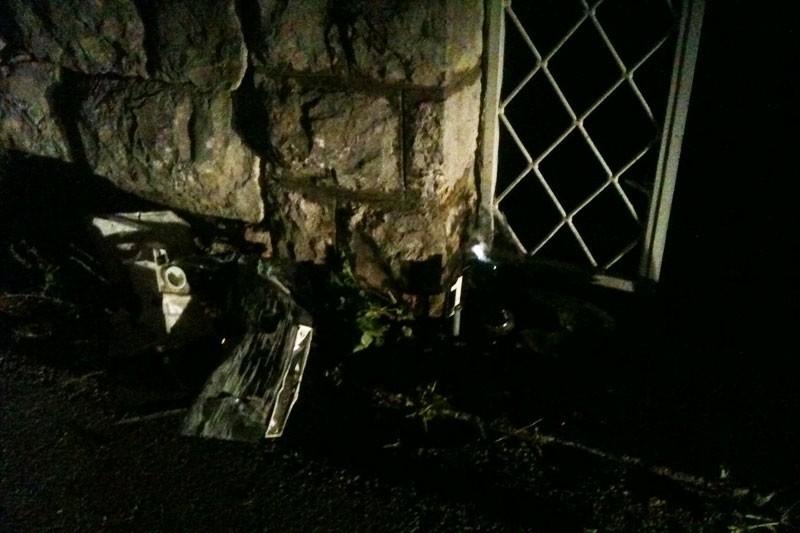 Zabio se autom u vrata obiteljske kuće