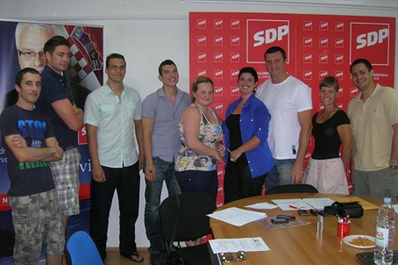 Goran Milić, predsjednik mladih SDP-a s 30 godina!