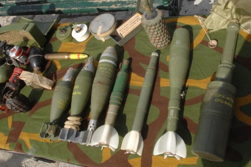 Pronađen sanduk s municijom za ručni bacač raketa