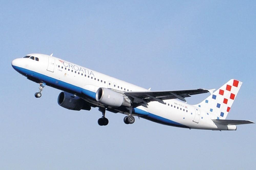 Zrakoplov Croatia Airlinesa
